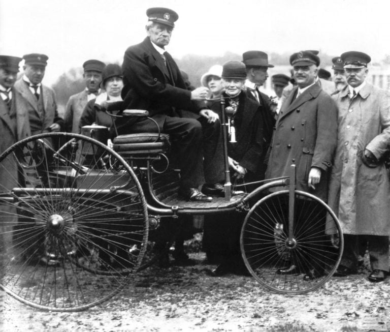 Carl Benzin patenttihakemuksesta 135 vuotta