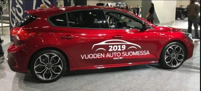 Vuoden auto Suomessa 2020 julkistetaan 5.12.2019