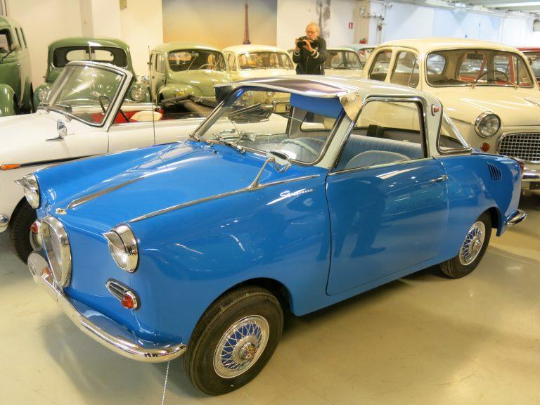 Päivän museoauto: Oikea auto pienoiskoossa