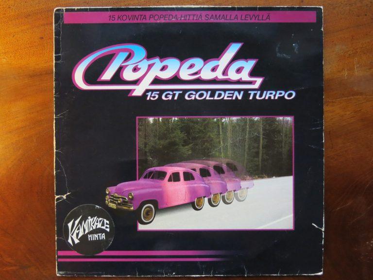 Päivän levynkansi: Popedan 15 GT Golden Turpo