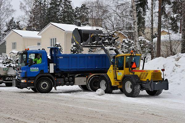 Helsingin kaupunki on valmiina talven tuiskuihin