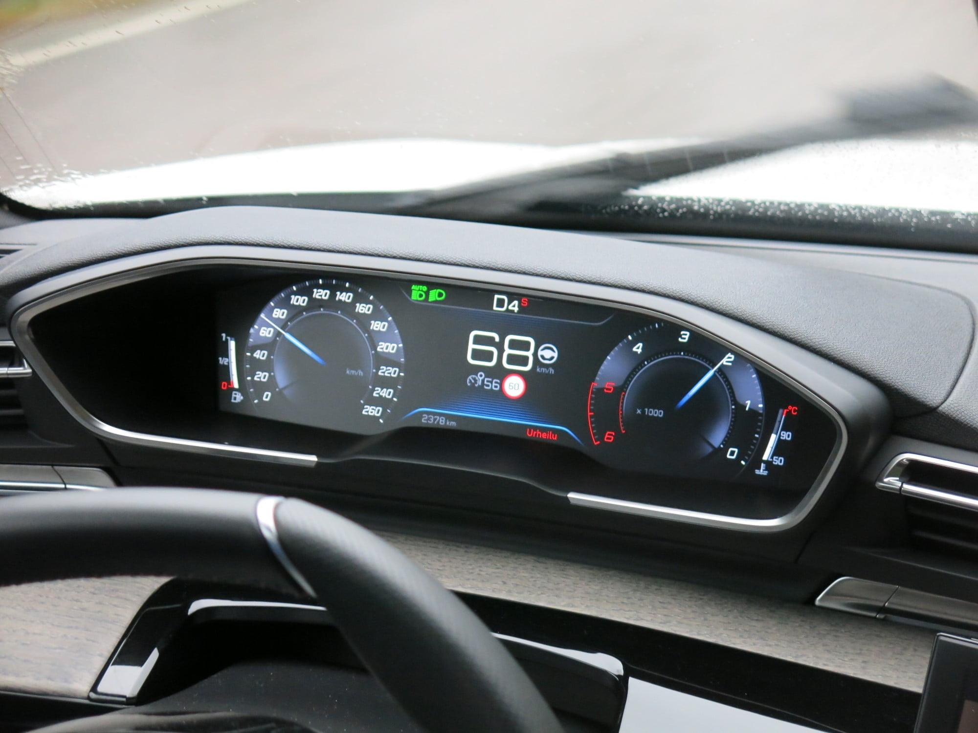 Peugeot 508 Automaattivaihteisto