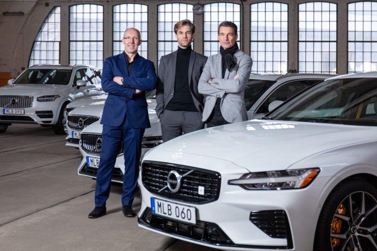 Nämä miehet vastaavat Volvojen muotoilusta