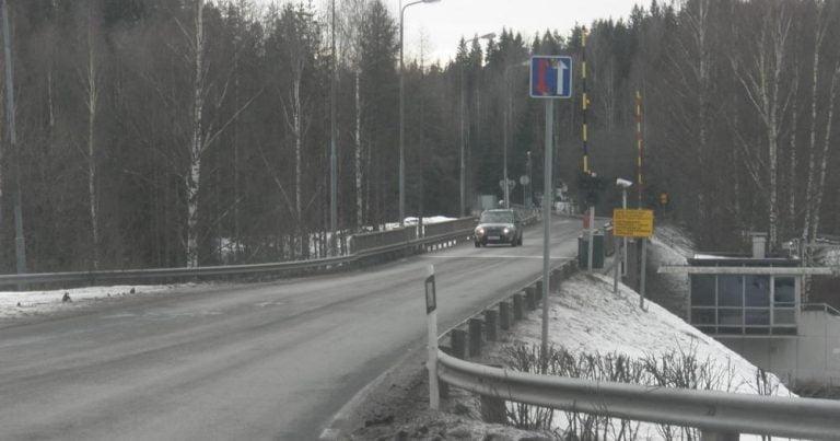 Tänä talvena Venäjä ei rajoita bussiliikennettä Saimaan kanavan huoltotiellä