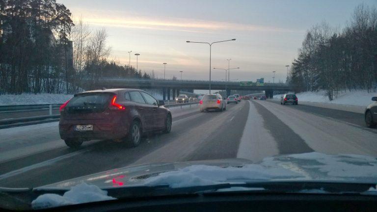 Kulunut vuosi ei tuonut merkittäviä muutoksia liikenneturvallisuuteen