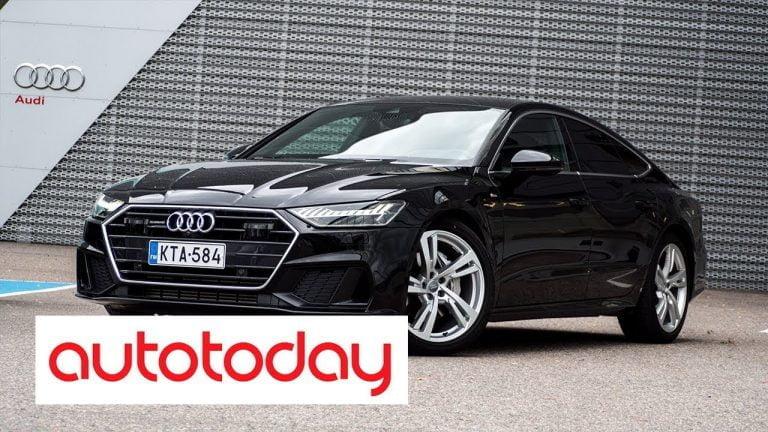 Autotoday testasi: Audi A7 Sportback 50 TDI quattro – ketterä luksuscoupé nelipyöräohjauksella