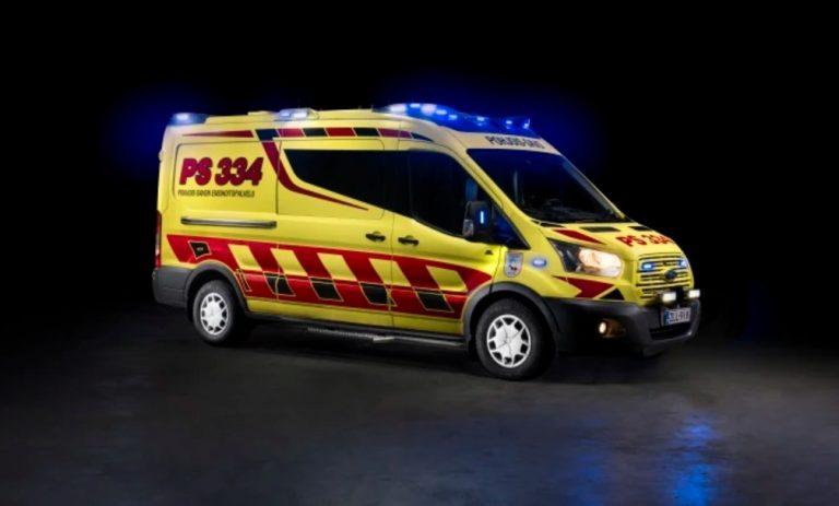 Fordin Suomen ensimmäinen laatusertifikaatti annettiin ambulanssivalmistajalle