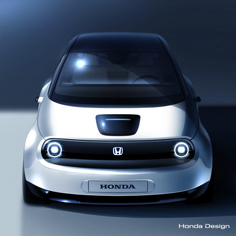 Tältä näyttää Genevessä julkistettava Hondan uusi sähköauton prototyyppi