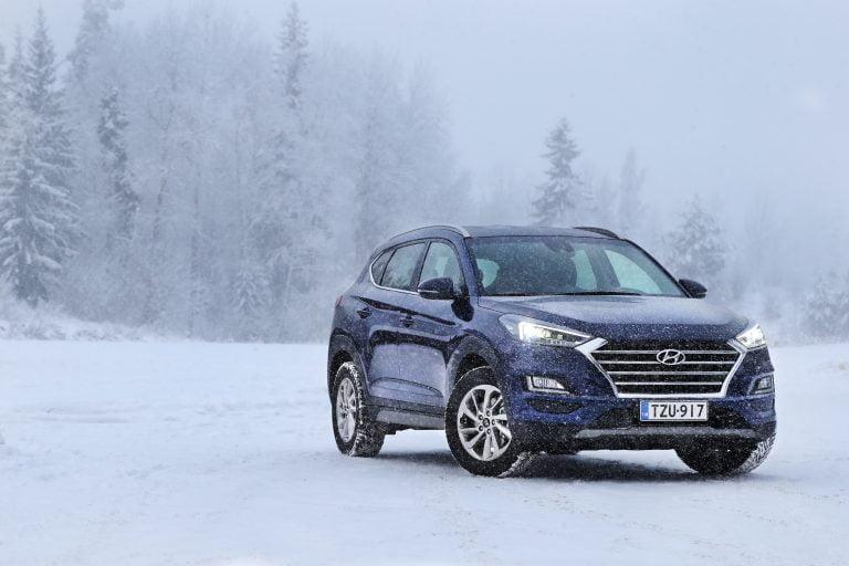 Hyundai Tucson -mallistoon tulee nyt tarjolle kaksi nelivetoista erikoismallia