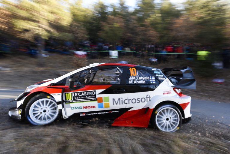 WRC: Latvala on noussut jo taistelemaan nelospaikasta