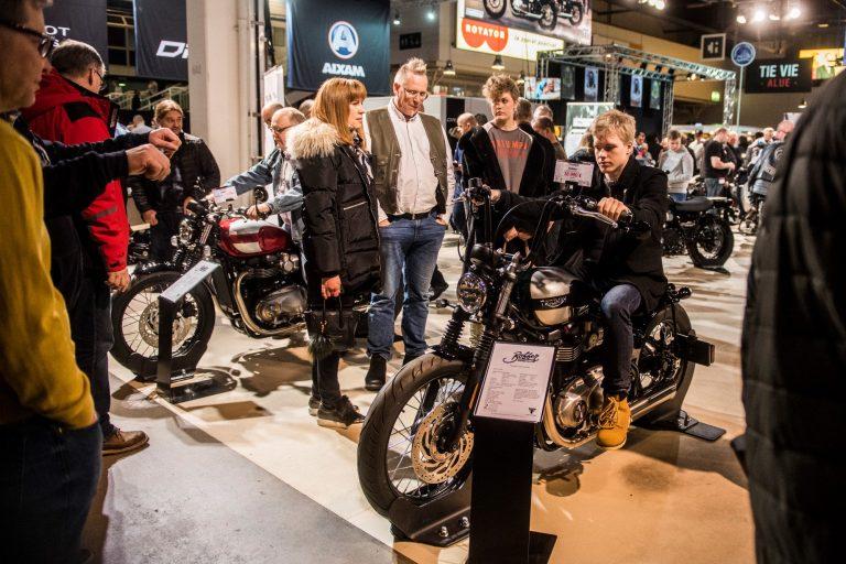Nämä yli 50 moottoripyörää ovat koeajettavissa sisätiloissa ensi viikonlopun MP-näyttelyssä