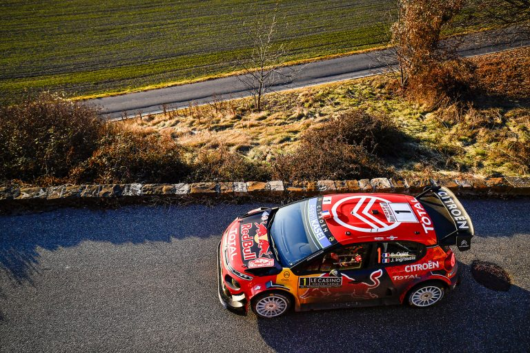 WRC: Lappi teki pienen virheen — Ogier nousi kärkeen