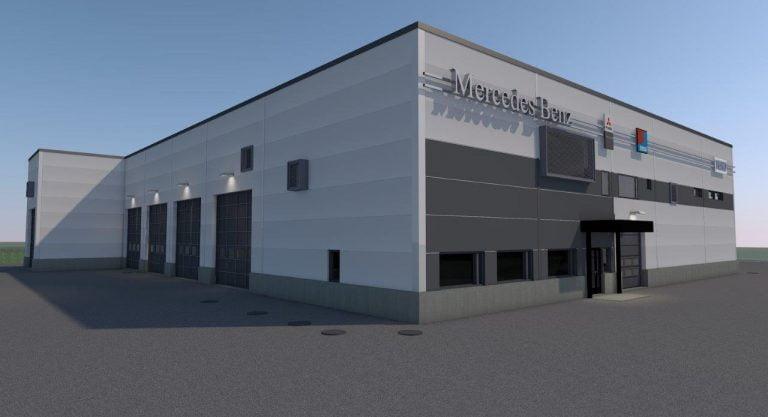 Veho rakentaa uuden paketti- ja kuorma-autojen asiakaspalvelukeskuksen Kokkolaan