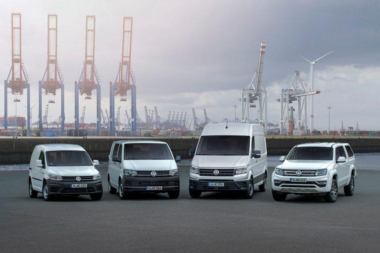 Volkswagen hyötyautot toimitti viime vuonna maailmanlaajuisesti melkein 500 000 autoa