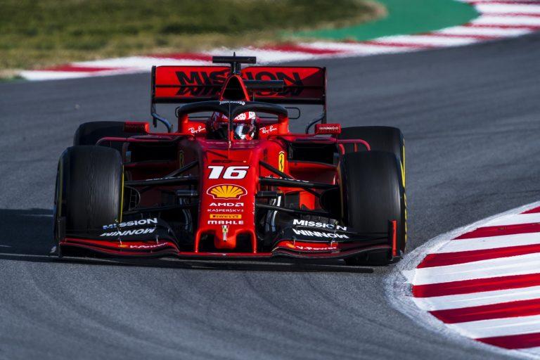 F1: Leclerc ajoi jo neljännen paalupaikan putkeen