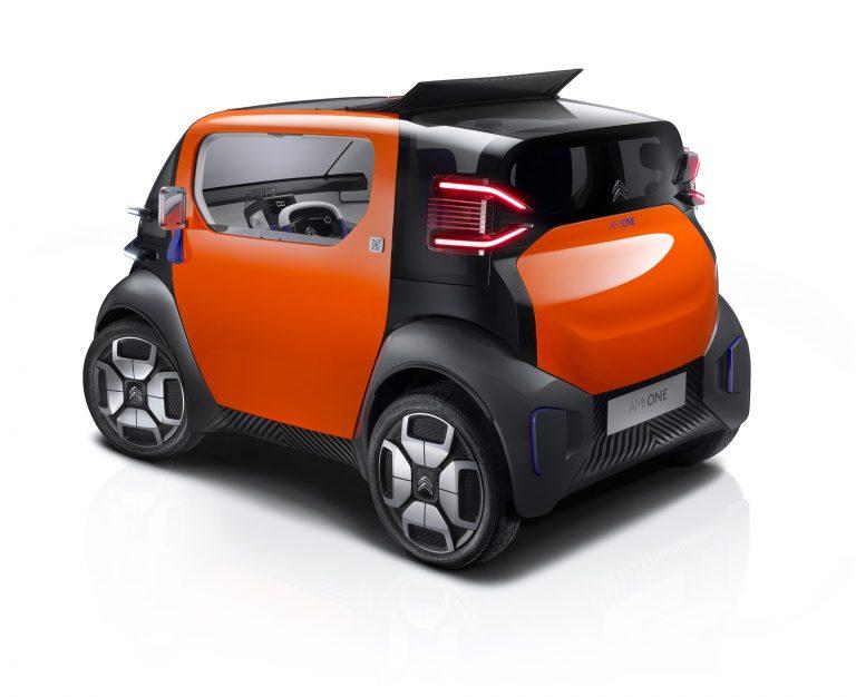Citroën esittelee Genevessä erikoisen liikkumisvälineen kaupunkiympäristöön