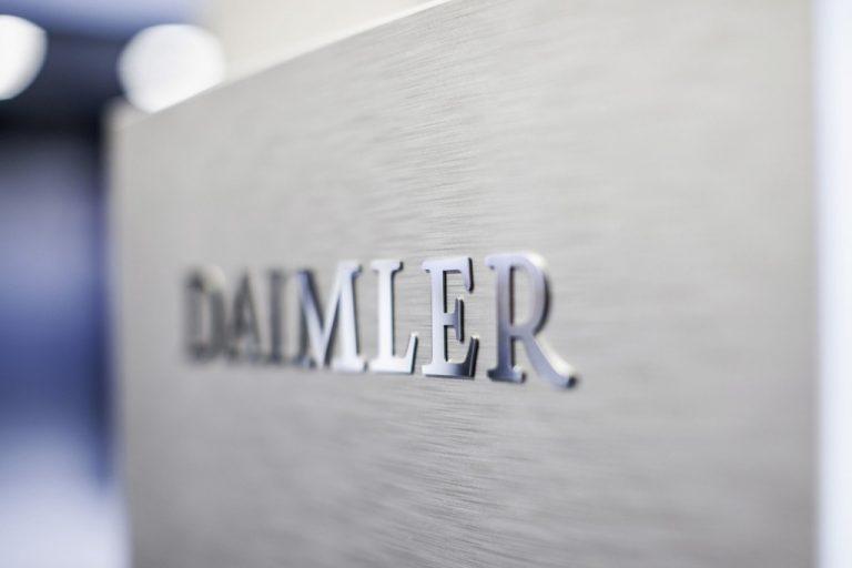 Daimler myi ennätykselliset 3,4 miljoonaa ajoneuvoa 2018