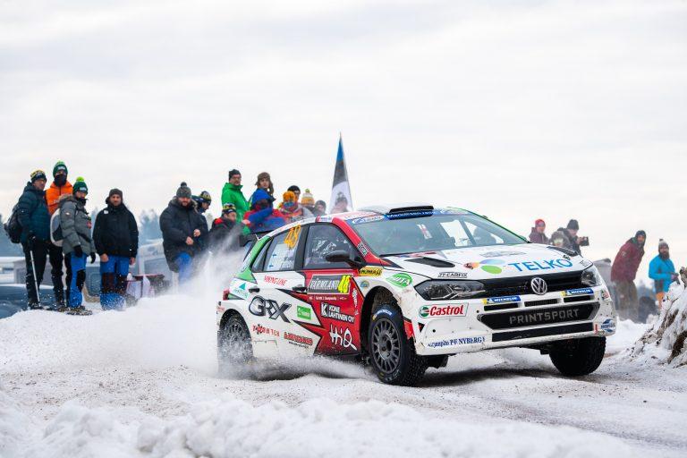 WRC: Ruotsista tuli Lapin kakkospalkinnon lisäksi kaksi muuta kakkossijaa Suomeen