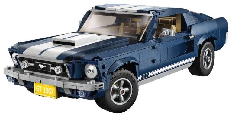 Ford Mustang on kohta saatavana myös 1470-osaisena rakennussarjana
