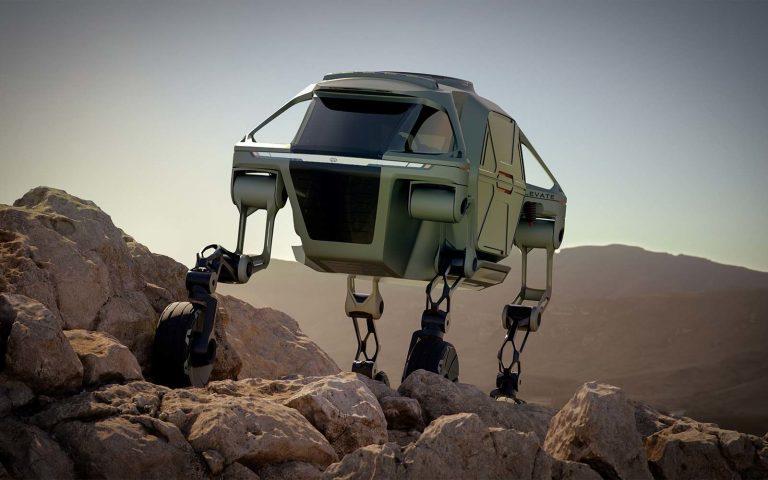 Hyundai kehittää auton, joka voi myös kävellä!