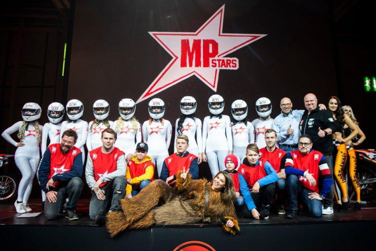 Näitä kilpamoottoripyöräilijöitä onnisti MP Stars -arvonnassa