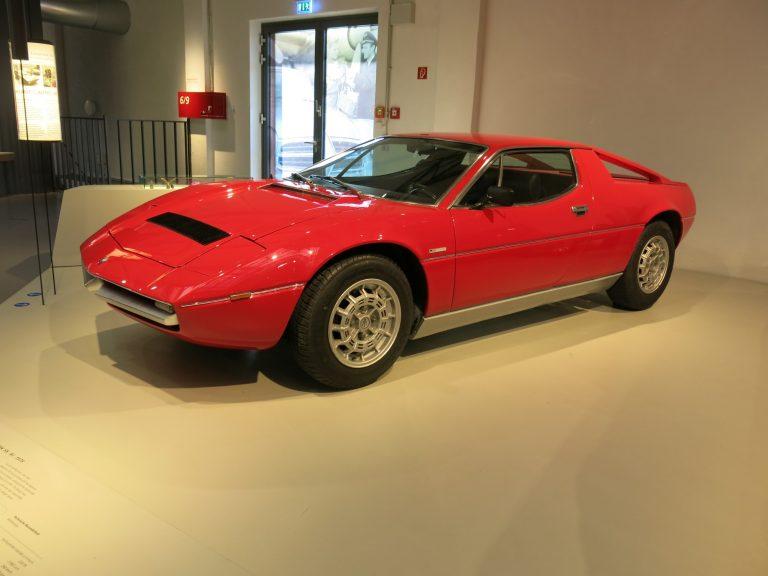 Päivän urheiluauto: Tämän Maseratin suunnittelija suunnitteli myös ensimmäisen VW Golfin