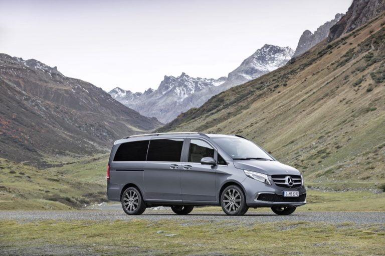 Mercedes-Benzin V-sarja uudistui henkilöautomalliston esikuvan mukaisesti