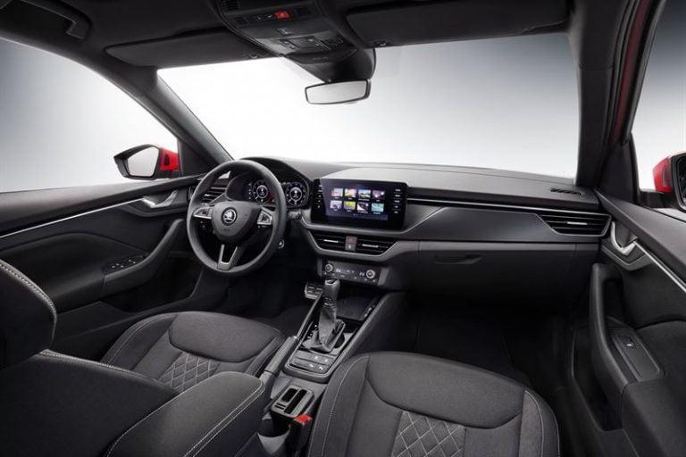 Tältä näyttää Genevessä julkistettavan Škoda Kamiqin ohjaamo
