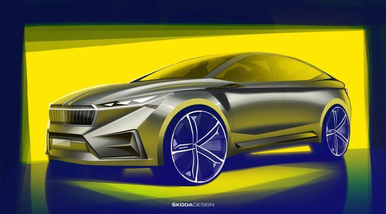 Tässä hieman esimakua Škodan tulevien sähköautojen muotoilusta