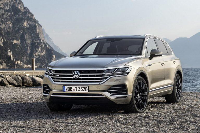 VW Touareg V8 TDI on nyt Volkswagenin tehokkain malli