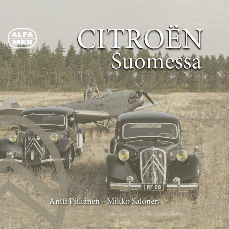 Suomen Citroën-historia laitettu kansiin — kirjassa yli 380 sivua ja useita kuva-aarteita