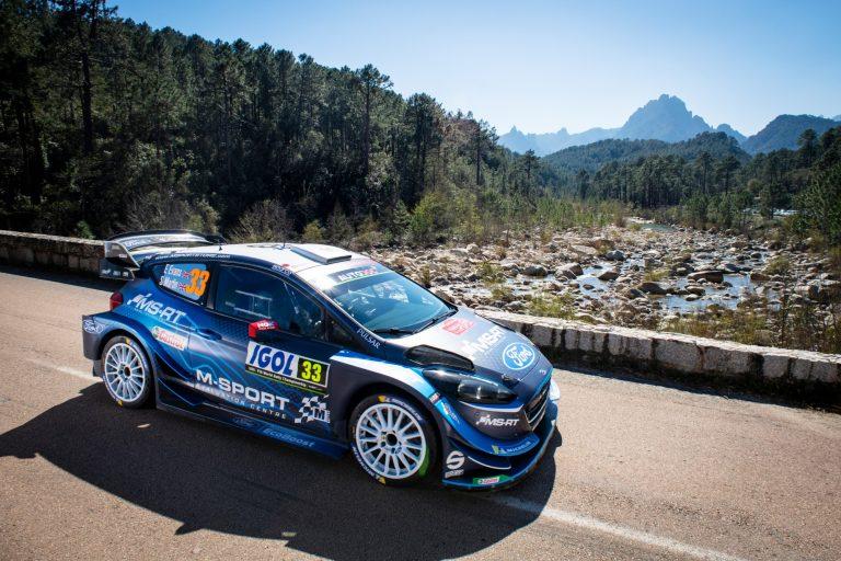 WRC: Elfyn Evans ajamassa voittoon Korsikan rallissa