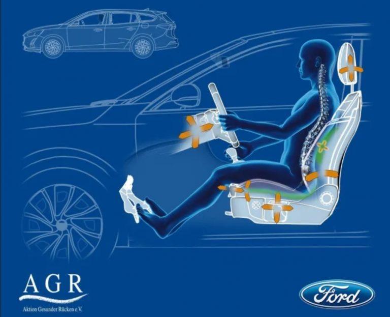 Uuteen Ford Focukseen tarjolla ergonomiset AGR-istuimet