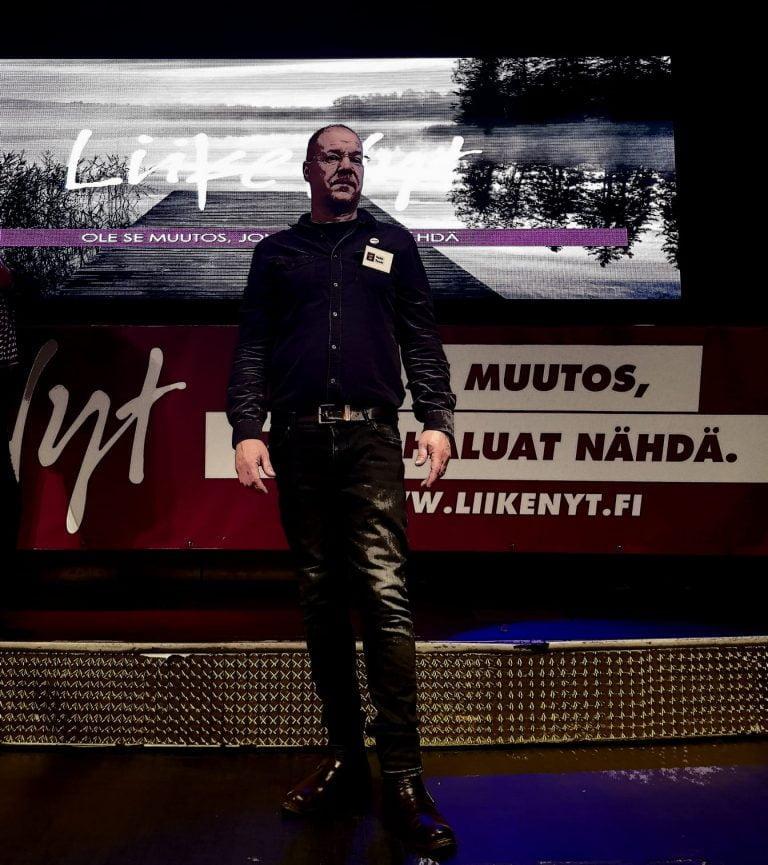 Poliitikon puheenvuoro: Heikki Panula, Liike Nyt, Uusimaa 484