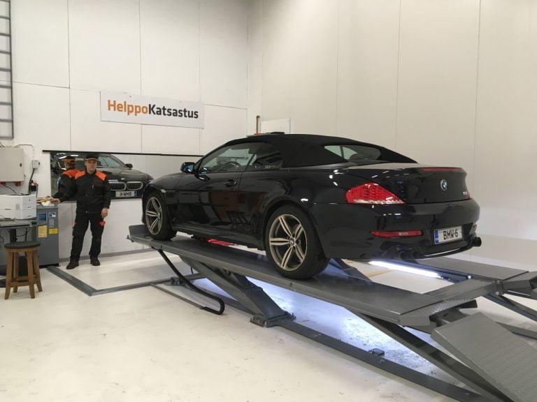 Väliaikainen muutos tulossa lakiin: Riskiryhmäläinen voi siirtää autonsa katsastuksen