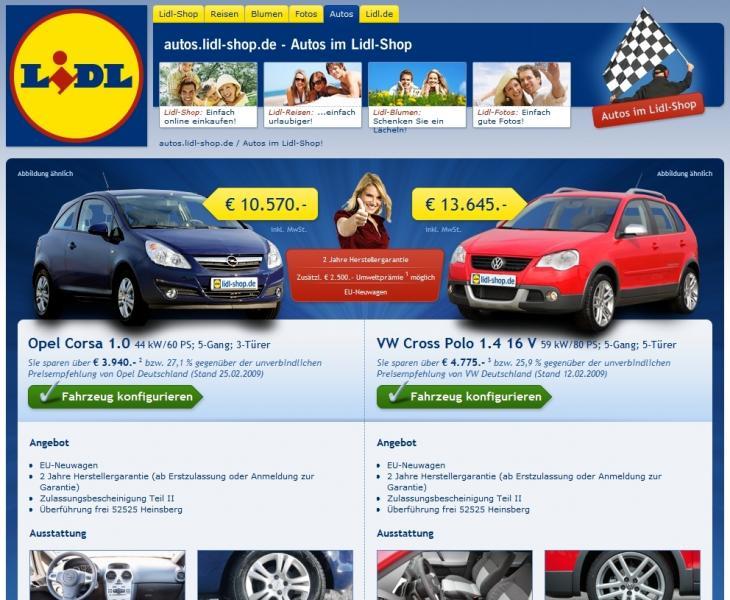 """Autotoday 10 vuotta sitten: """"Lidl kauppaa autoja edullisesti"""""""