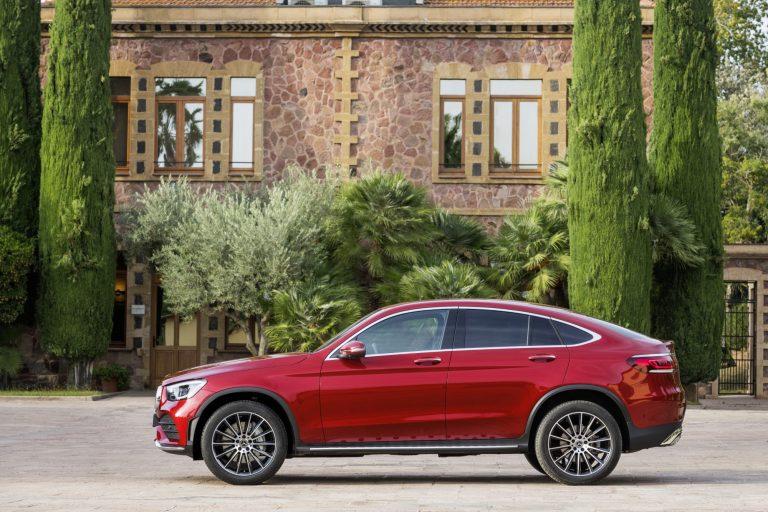 Mercedes-Benz GLC Coupé -malli on päivitetty