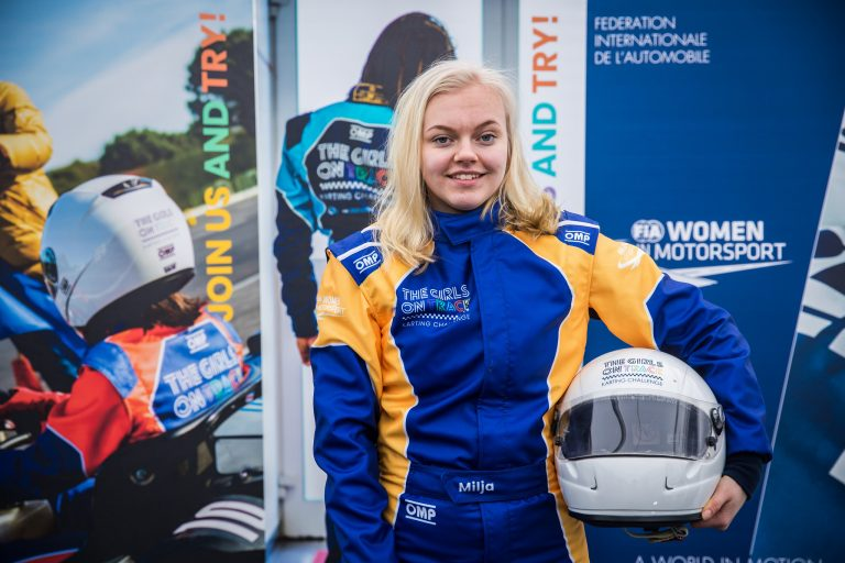 Milja Kukkonen ajoi viikonloppuna Le Mansissa Euroopan Girls On Track -joukkueeseen