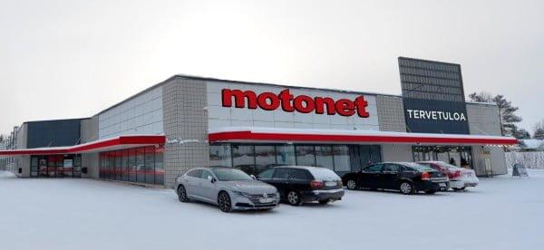 Motonet laajenee taas uudella myymälällä