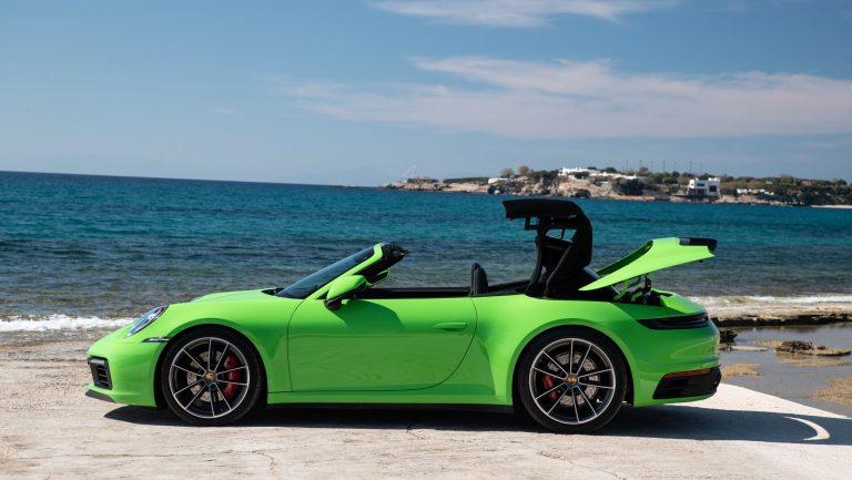 Porschen uutuusmallissa on uudenlainen avattava kattorakenne