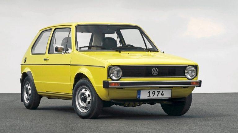 Tänään on juhlapäivä Wolfsburgissa — Volkswagen aloitti Euroopan menestyneimmän auton valmistuksen 29.3.1974