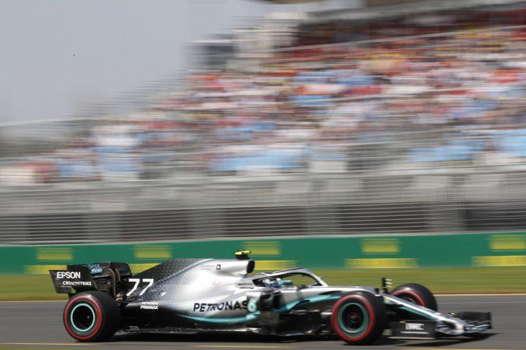 F1: Viime vuonna turva-auto pilasi Bottaksen kisan
