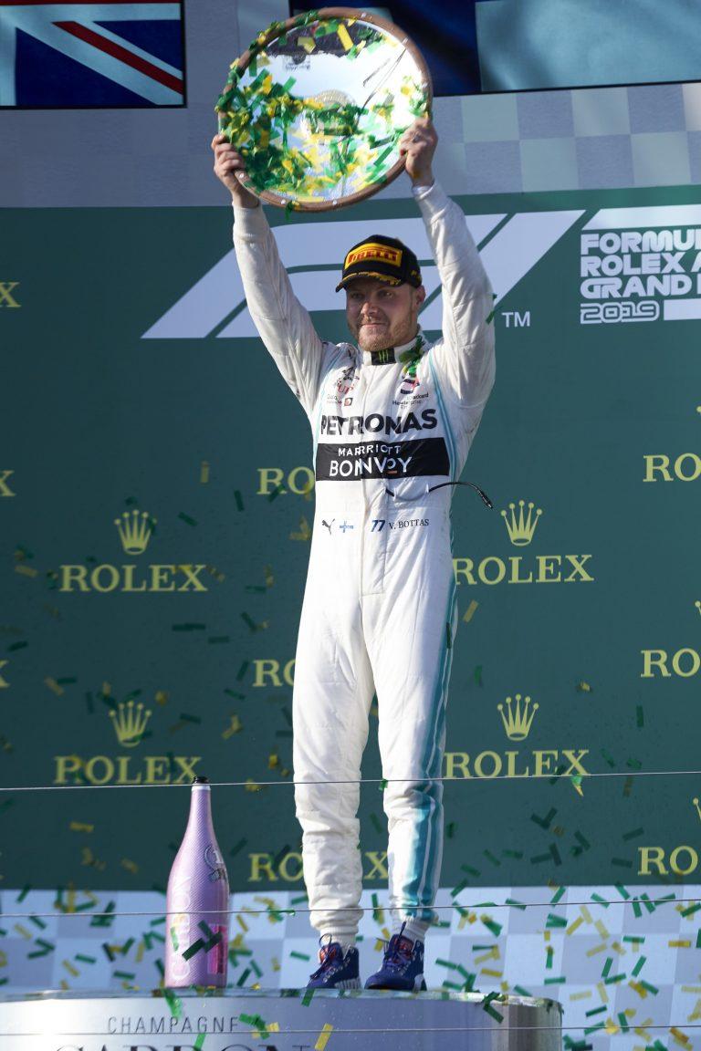 F1: Komea lista — Bottas johtaa nyt F1-sarjaa kahdeksalla pisteellä