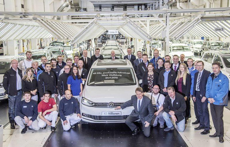 Volkswagen-ryhmän 122 tuotantolaitoksen reaaliaikainen data yhteen pilveen
