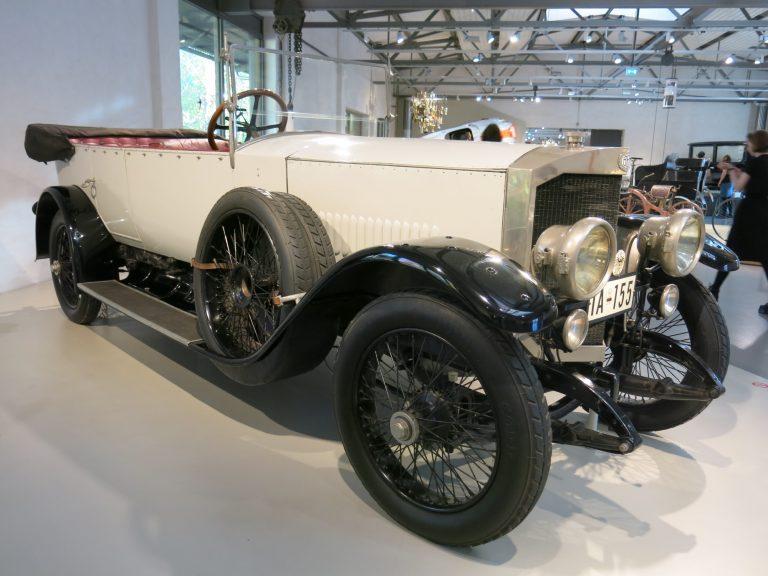 Päivän museoauto: Saksan suurlähettiläälle valmistettu Benz