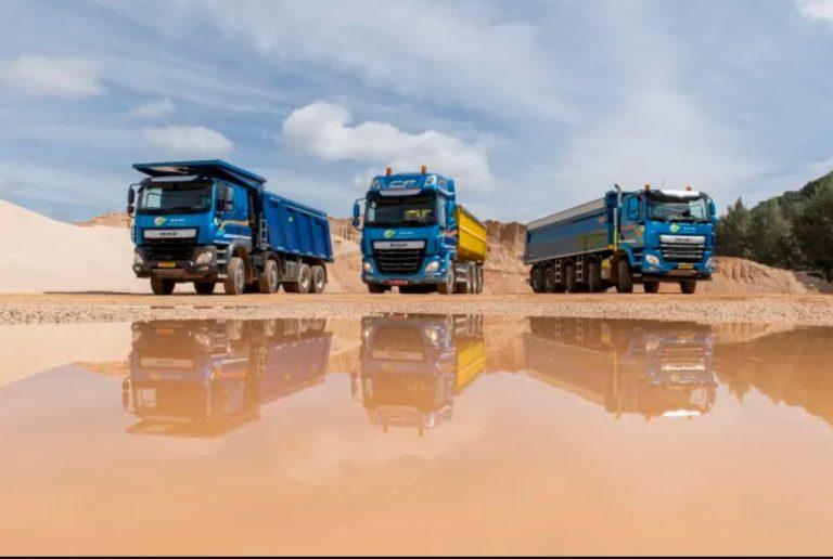 DAF tuo kuorma-autoja myös maanrakennussegmenttiin