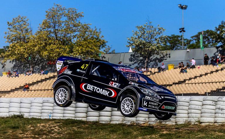 Rallicross: Kaksi suomalaista neljän kärkeen Barcelonan RX2-kauden avauksessa