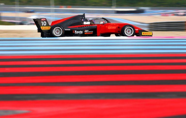 Konsta Lappalainen ajoi pisteille Ranskan F3-kisassa