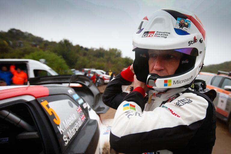 WRC: Kris Meeke jatkaa Walesissa selvässä johdossa