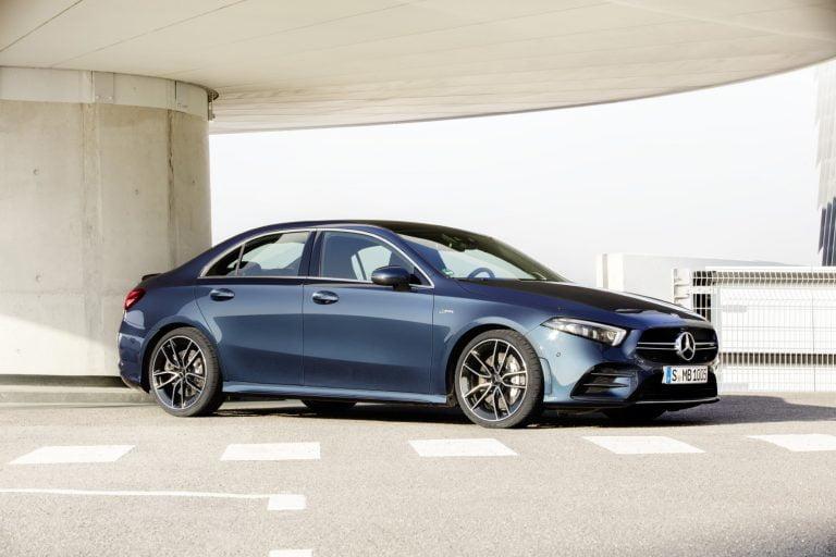 Mercedes-AMG A35 -mallisto täydentyy syksyllä